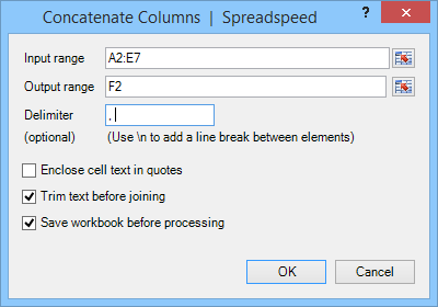 Excel Range and Cell Utilities - Spreadspeed Features | BreezeTree