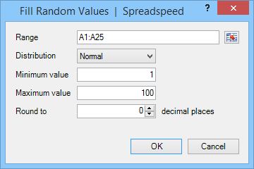 Fill Random Values