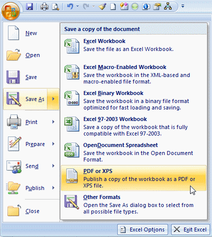 How To Save Excel As Pdf >> How To Save Excel Flowcharts To Pdf Breezetree